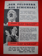 Alliiertes Propaganda-FLUGBLATT Aus 1943 - Allemagne