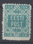 ESTONIE - 1918 - N° 5 - Dentelé 11.5 - Neuf - X - B/TB - - Estonia