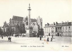 44-349 - LOIRE ATLANTIQUE - NANTES - La Place Louis XVI - Nantes