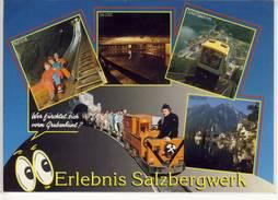 Eintrittskarte Erlebnis SALZBERGWERK HALLSTATT , Rutsche, Standseilbahn, Salzsee, Grubenhunt - Tickets D'entrée