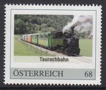 ÖSTERREICH 2016 ** Taurachbahn / Salzburg - Steiermark, Eisenbahn, Train - PM Personalized Stamp MNH - Private Stamps