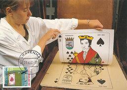 D29473 CARTE MAXIMUM CARD RR 2001 NETHERLANDS - PLAYING CARDS CP ORIGINAL - Spiele