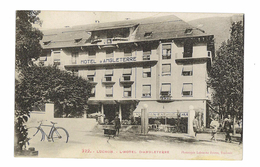 CPA 31 LUCHON L'HOTEL D'ANGLETERRE - Luchon