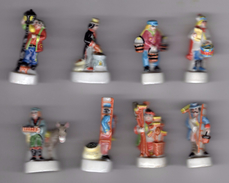 Série 9 Fèves Brillantes LES METIERS DU TEMPS JADIS III Prime 1999 Sans Inscription - History