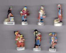 Série 7 Fèves Mâtes LES METIERS DU TEMPS JADIS II Prime 1999 Avec Inscription - History