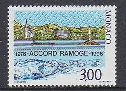 Monaco 1996 Accord Ramoge 1v ** Mnh (35218D) - Europese Gedachte