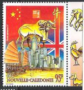 Nouvelle Calédonie 1997: Yv PA 342 ** MNH HONGKONG (signes Du Zodiaque Chinois) - Astrologia