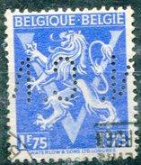 Belgique Timbre Perforé - Lochung