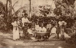 Colombo - Sinhalese Beating Tom-Tom Ceylon Sri Lanka  Tuck´s Post Card - Sri Lanka (Ceilán)