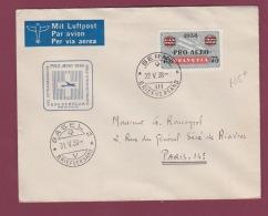 AVIATION - 230317 -  SUISSE - Par Vol Extraordinaire Pour La France 1938 - Avions