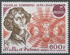 WALLIS & FUTUNA 1993: Yv PA N°177 ** MNH Nicolas Copernic (1473-1543) POLSKA93 (cote: 17.00 €)
