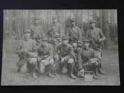 24e REGIMENT D'INFANTERIE - Détachement De Soldats Dans Les Bois - Carte-photo - Guerre 1914-18 - Non Voyagée - WW1 - Guerre 1914-18