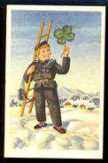 Chimney Man With Clover / Postcard Circulated, 2 Scans - Künstlerkarten