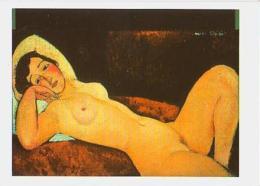 Peinture        H60        Nu Couché Ou La Rêveuse ( A.Modigliani ) - Paintings