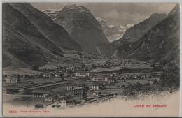 Linthal Mit Selbsanft - Photoglob No. 3899 - GL Glaris