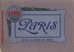 PARIS - Album Photographique ELD 1917 - Tour Eiffel - Opéra - Madeleine - Arc De Triomphe - Champs-Elysées - Concorde... - Photographs