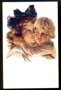 Boileau: Frere Et Soeur / Postcard Circulated, 2 Scans - Boileau, Philip