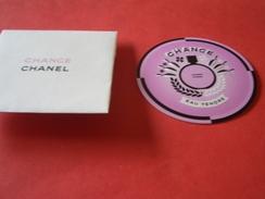 Carte Chanel Chance A/patch Et Pochette - Perfume Cards