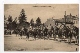 - FRANCE (54) - CPA Ayant Voyagé LUNEVILLE 1911 - Chasseurs à Cheval (belle Animation) - Edition P. Ritter - - Luneville