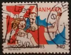 DINAMARCA 1985 International Youth Year. USADO - USED. - Dinamarca