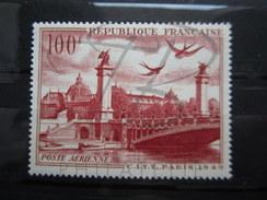 VEND BEAU TIMBRE DE POSTE AERIENNE DE FRANCE N° 28 , X !!!! - 1927-1959 Nuevos