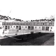 HLVTP7456-LFTD7693.Tarjeta Postal DE HUELVA.Edificio,arboles,campo Y VISTAS DE RIO TINTO - Huelva