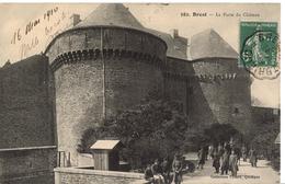 """Carte Postale Brest """" La Porte Du Chateau """" - Brest"""