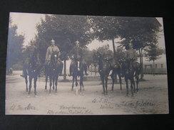 Foto Uniform Reiter , Pickelhauben , 1907  Nach Borkum - Guerra 1914-18