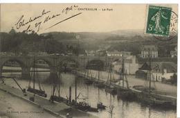 "Carte Postale Chateaulin "" Le Port "" - Châteaulin"