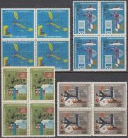 1971.85 CUBA MNH 1971. Ed.1831-34  DIA INTERNACIONAL DE LA METEOROLOGIA. METEOROLOGY DAY. BLOCK 4 - Cuba
