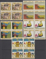 1971.89 CUBA MNH 1971. Ed.1875-81 DIBUJOS INFANTILES. CHILDREN DRAWING BLOCK 4. - Cuba