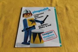 Vieille Publicité Playmobil - Publicités