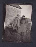 Photo Originale Guerre 14-18 EBOULEAU (02) Officiers Allemands Le 30 Janvier 1918 Deutsche Armee - Guerre, Militaire