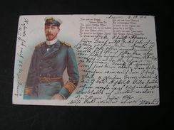 Poesie Karte  Main Rastatt 1904 - Persönlichkeiten