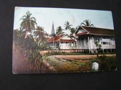 Borneo Karte Used In Germany  1915 - Malaysia