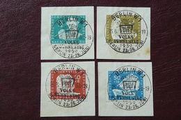 Allemagne - RDA - DDR -  Yvert N° 10/13 Oblitérés Du 26/06/1950 - DDR