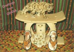 Accra (Ghana), Cultural Chief's Stool - Ghana - Gold Coast