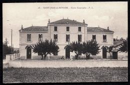 CPA ANCIENNE- FRANCE- SAINT-JEAN-EN-ROYANS (26)- ECOLE MATERNELLE EN ÉTÉ- TRES GROS PLAN ANIMÉ- - Frankreich