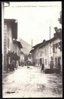 CPA ANCIENNE- FRANCE- SAINT-JEAN-EN-ROYANS (26)- FAUBOURG DES BROUS- BELLE ANIMATION- FONTAINE- - Frankreich