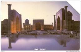 OUZBEKISTAN UZBEKISTAN MOSQUEE MOSQUE ISLAM TACHKENT URMET 25U UT - Ouzbékistan