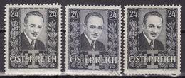 ÖSTERREICH 1932 ANK 589,590  2xMLH*,USED   VF - 1918-1945 1ère République