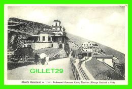 KULM, POLOGNE - RESTAURANT GENEROSO KULM, STAZIONE, ALBERGO CLERICETTI E VETTA - MONTE GENEROSO - TRAVEL IN 1926 - - Pologne