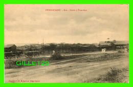 DIÈGO-SUAREZ, MADAGASCAR - RUE OCTROI À TANAMBAO - ANIMÉE - M. MALGARINES  - CIRCULÉE EN 1924 - - Madagascar