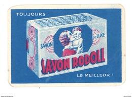 Carte Parfumée Parfum Savon Rodoll P. Giraud & Cie Pharmaciens Lyon-Oullins - Cartes Parfumées
