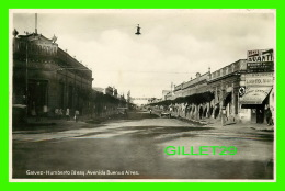 BUENOS-AIRES, ARGENTINA - GALVEZ-HUMBERTO ESQ AVENIDA - ANIMATED - GALVEZ SANTA FÉ - - Argentine