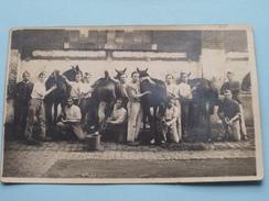 Soldaten Met Paarden / Militair / Soldiers With Horses ( Zie Foto Voor Details ) !! - Personen