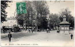 75 ROUEN - Place Armand-Carrel  (Recto/Verso) - Rouen