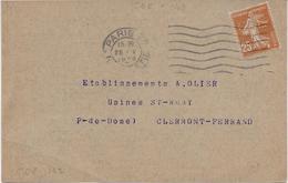 Carte Cie Gale D' Électricité - Perf. CNE142 Sur 235 - Perfins