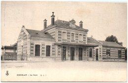 95 HERBLAY - La Gare    (Recto/Verso) - Herblay