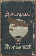 AVIATION Blackpool Aviation Week 1909 Programme E67 - Programs